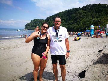 Laura y su padre