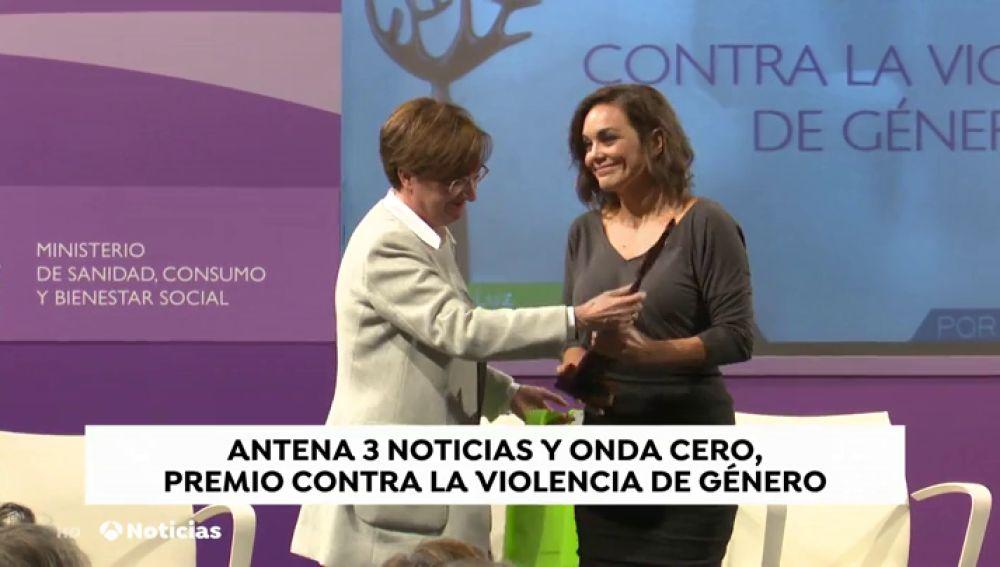 Antena 3 Noticias y Onda Cero, premio de 'Periodismo contra la Violencia de Género'