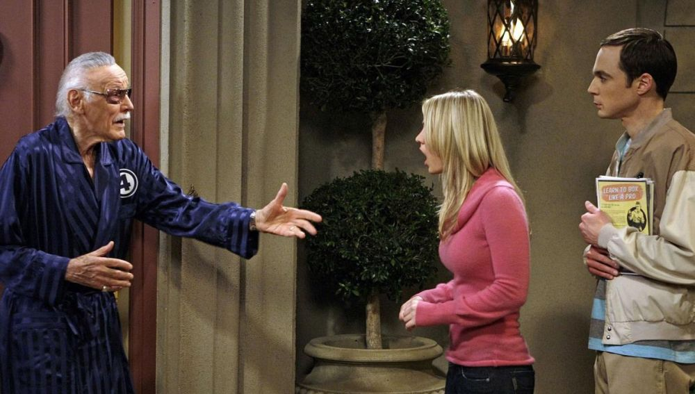 Stan Lee en 'The Big Bang Theory'