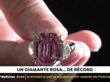 50 millones de dólares por un diamante rosado de 19 quilates