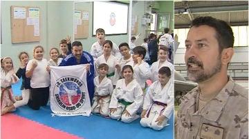 Juan Bosco, el sargento taekwondista