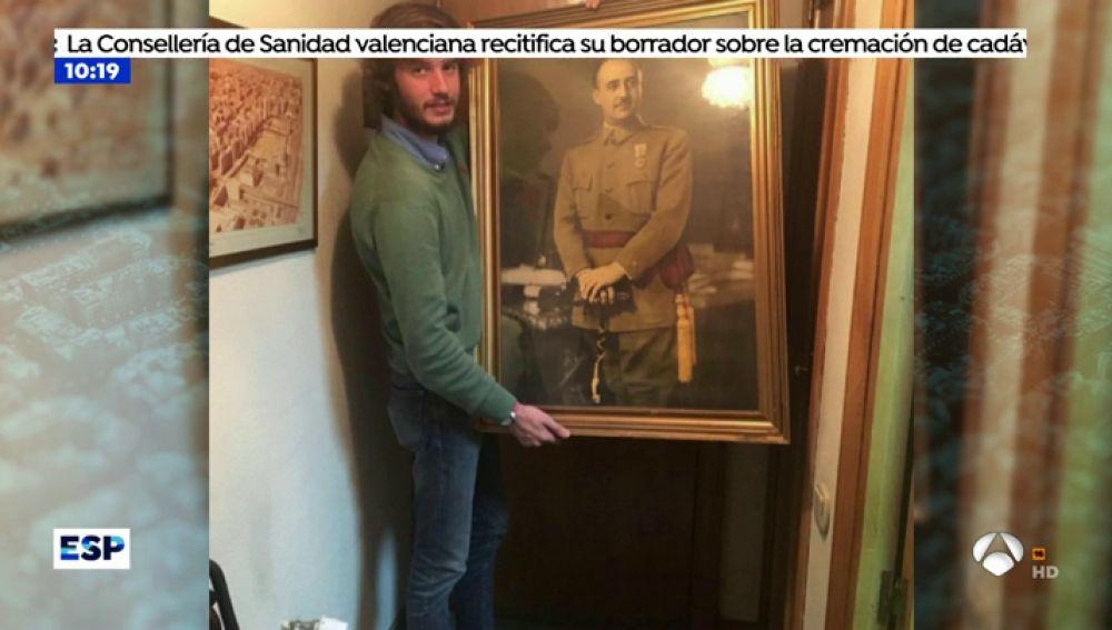 Este es el joven franquista que ha liderado un escrache a Willy Toledo