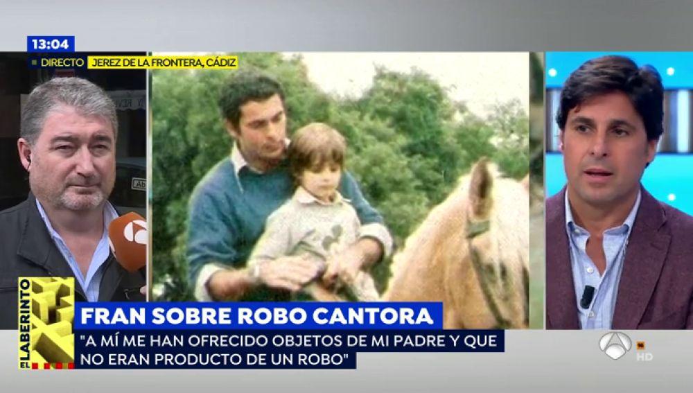 """Fran Rivera piensa que el robo en Cantora es falso: """"Pantoja era una gran mujer delante de mi padre, pero cambiaba radicalmente cuando se iba"""""""