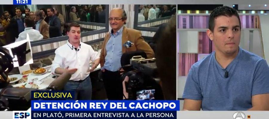 Antena 3 tv espejo p blico la persona suplantada por for Ver espejo publico hoy