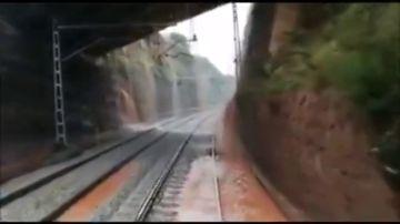 Denuncian el estado de las vías por las que circulaba el tren descarrilado en Vacarisses