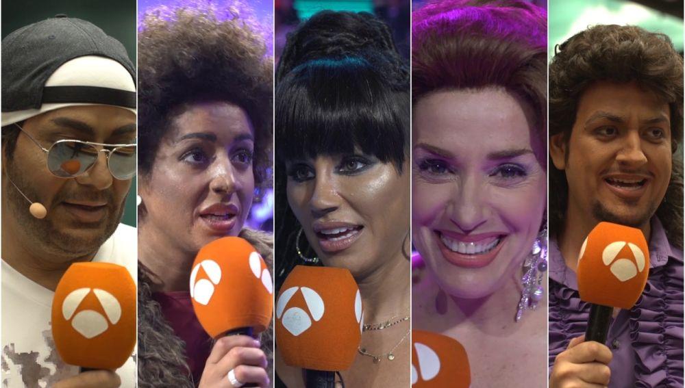 ¿Cuánto han cambiado los concursantes de 'Tu cara me suena' en estas ocho galas?