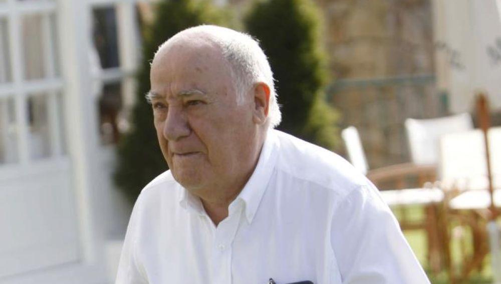 El empresario Amancio Ortega