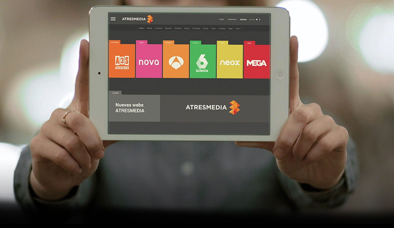 Las webs de Atresmedia supersite