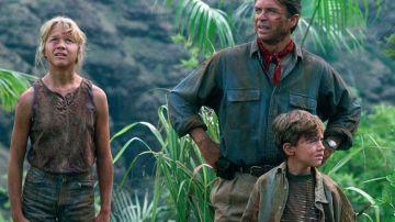 Los protagonistas de 'Jurassic Park'
