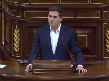 """Rivera, ante el """"no como una casa"""" del PSOE a la moción sobre los indultos del 'procés': """"¿Hubieran indultado a Tejero?"""""""