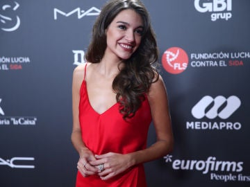 Ana Guerra durante la gala 'People in Red'