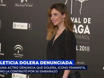 """Una actriz denuncia que Leticia Dolera, icono feminista, no la contrató por su embarazo: """"Era imposible contar esta historia con una embarazada de 5 meses"""""""