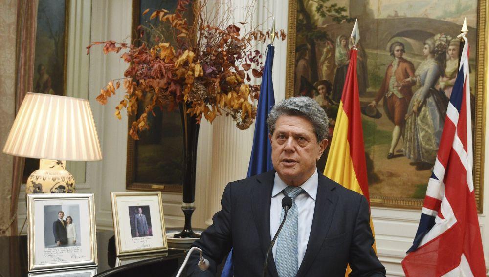 El exministro de defensa, Federico Trillo