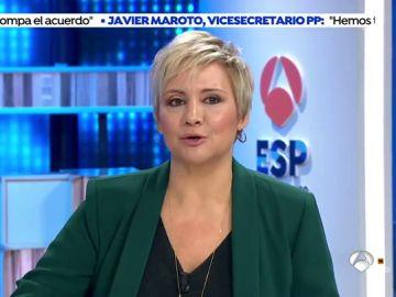 """Gloria Serra aguanta en directo una batería de insultos: """"Engañas a la gente, mentirosa, cínica"""""""