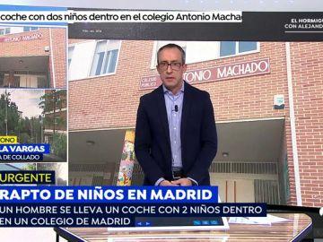 Aparece el bebé raptado en Collado Villalba (Madrid).