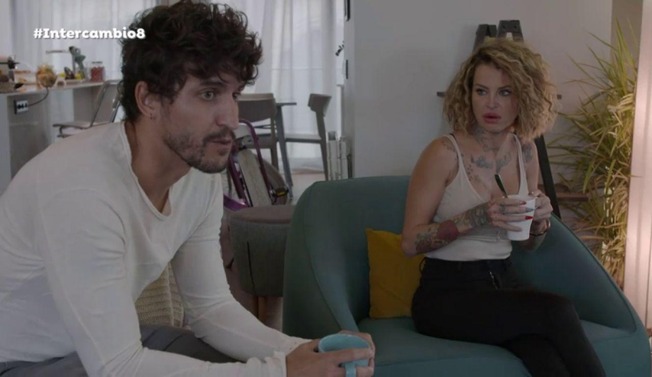 Paloma y Rubén, amenazados por los celos de sus parejas