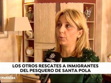 """La mujer de unos de los rescatados del barco de Santa Pola: """"El Gobierno no nos dio respuesta alguna, estábamos desesperados"""""""