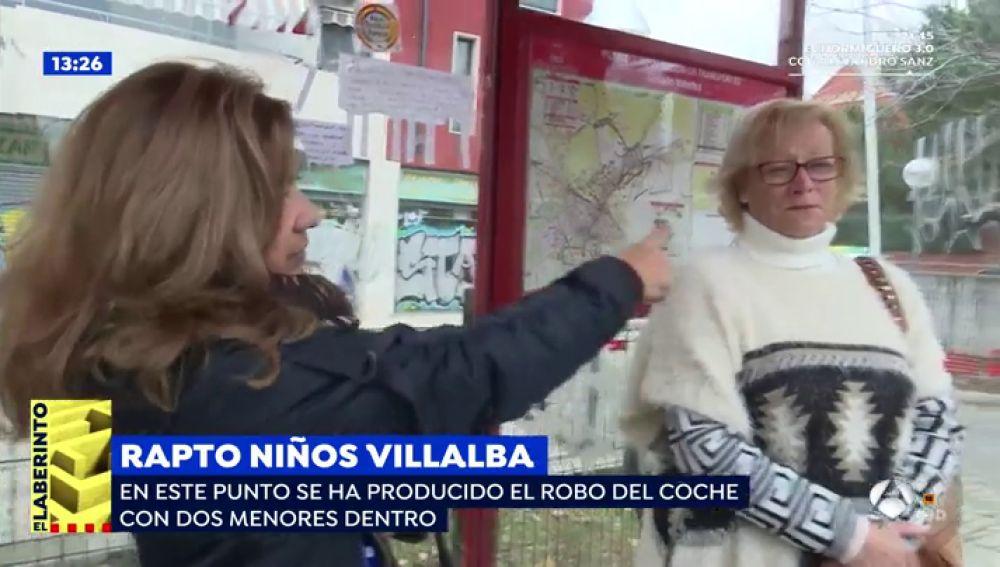 Roban un coche con dos niños en Villalba.