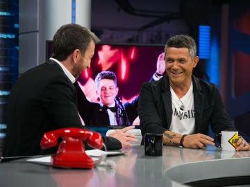 """VÍDEO: Alejandro Sanz, en 'El Hormiguero 3.0': """"No me estoy haciendo mayor, me estoy haciendo pesado"""""""
