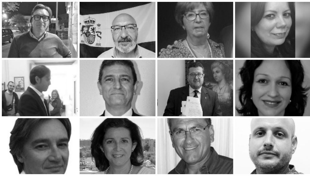 Los 12 diputados de Vox de Andalucía