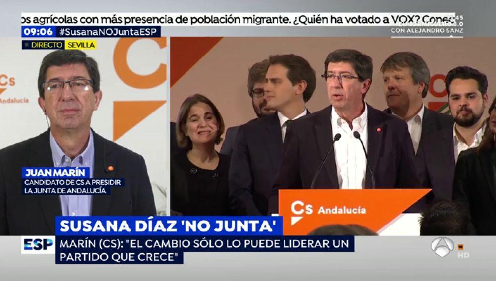 Susanna Griso pilla en un renuncio a Juan Marín y Juanma Moreno sobre su primera conversación tras las elecciones