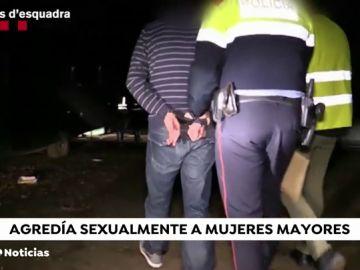 Detienen a un hombre acusado de acometer robos con violencia y abusos sexuales en Barcelona