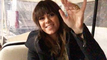 Acompañamos a Vanesa Martín al plató de 'La Voz Kids' sobre ruedas