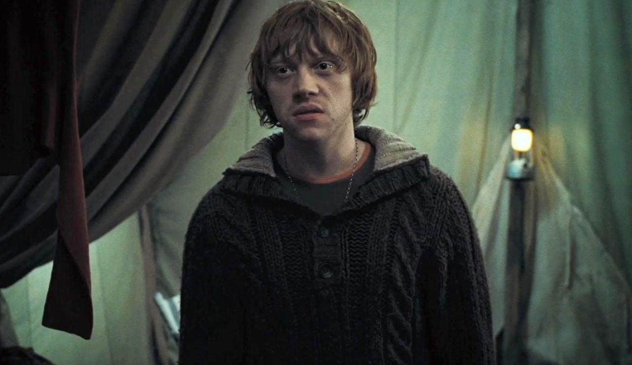 Ron Weasley en 'Las Reliquias de la Muerte'
