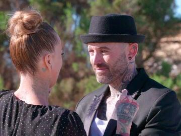 """Javi a Paloma: """"¿Quieres casarte conmigo?"""""""