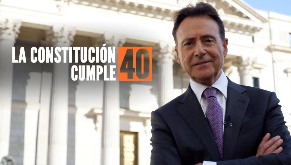 Matías Prats presenta 'La Constitución cumple 40'