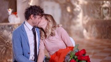 El romántico encuentro de Lara y Rubén tras la terapia