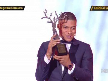 Mbappé gana el trofeo Kopa a mejor jugador joven del mundo