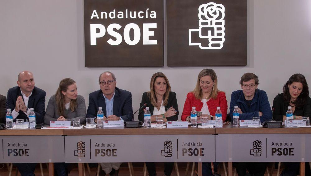 Reunión del Comité Ejecutivo del PSOE-A en Sevilla