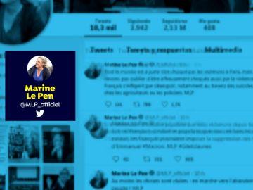 Marie Le Pen le da sus más sinceras felicitaciones a VOX