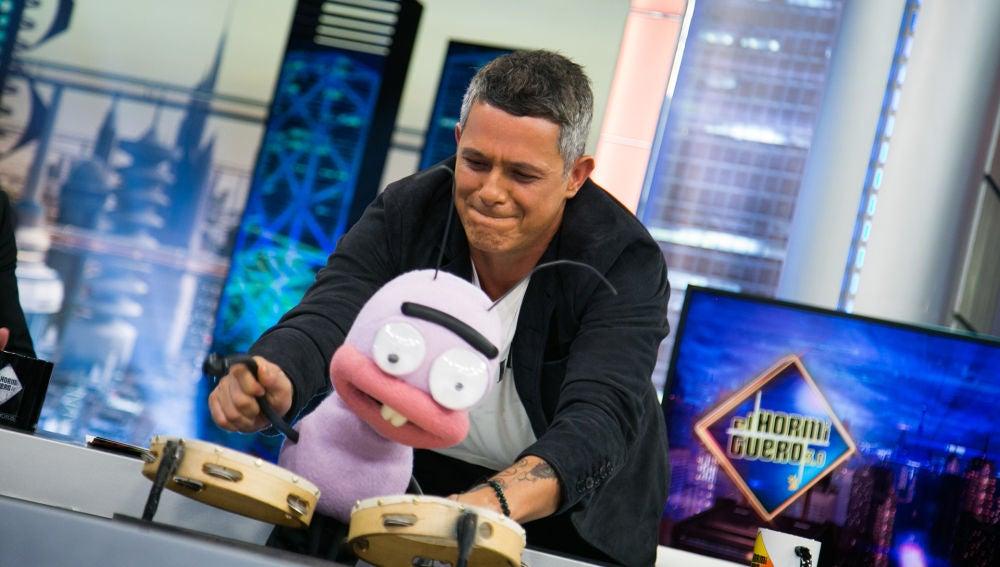VÍDEO: Trancas recrea la primera vez que se encontró con Alejandro Sanz en 'El Hormiguero 3.0' hace doce años