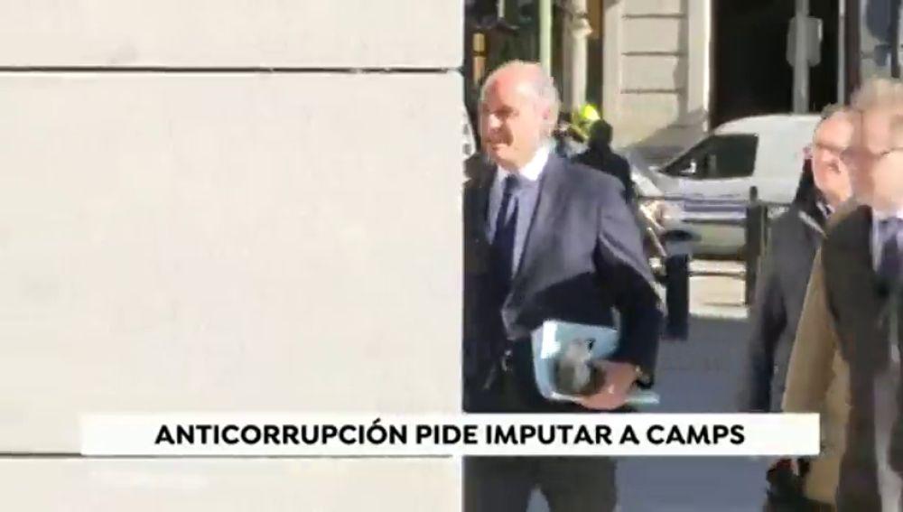 Anticorrupción pide imputar a Camps por contrataciones vinculadas al grupo de Correa