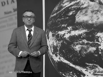 Roberto Brasero viaja a 1978 para dar la previsión del tiempo