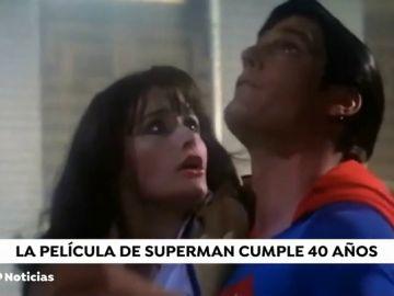 Nueva York celebra el 40 aniversario de Superman