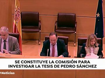"""El PP quiere demostrar en el Senado que Pedro Sánchez """"mintió"""" al afirmar que su tesis estaba publicada"""