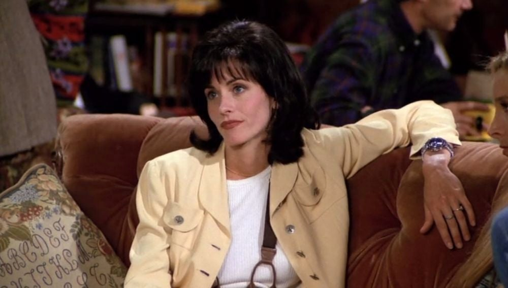 Courteney Cox como Mónica Geller en 'Friends'
