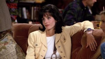 Courteney Cox como Mónica Geller en 'Friends'
