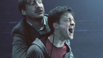 Harry Potter y Remus Lupin