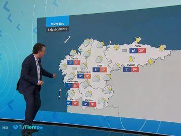 Probables nieblas en amplias zonas del interior peninsular y Baleares
