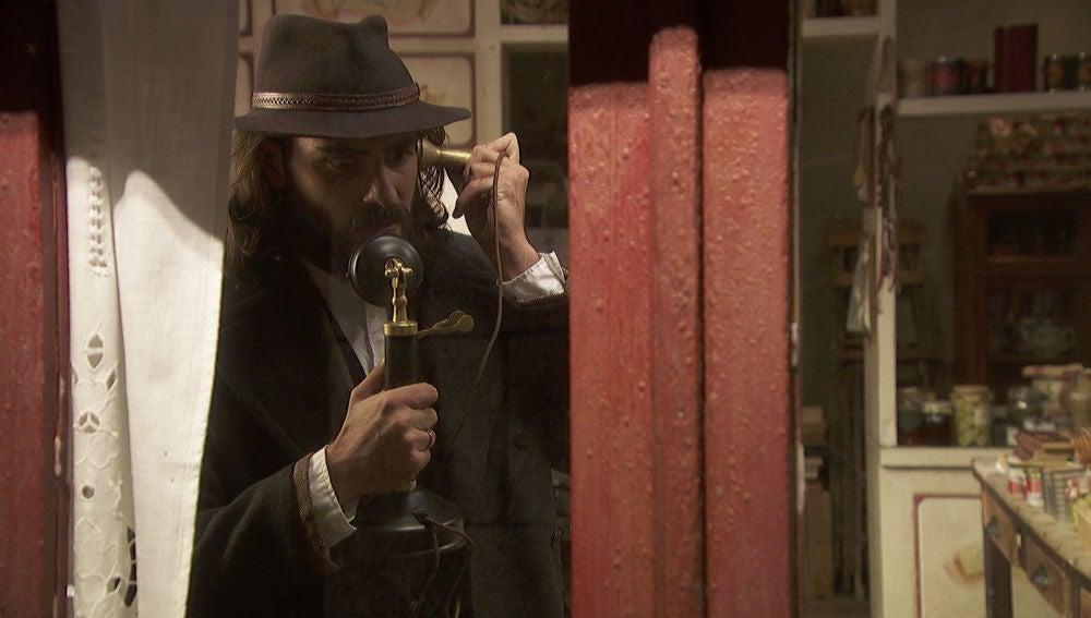 Isaac llama al sanatorio para resolver sus dudas