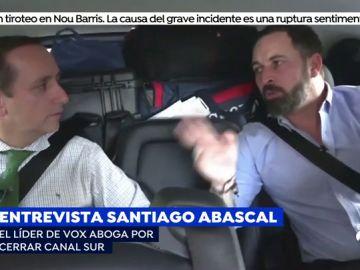 Santiago Abascal (Vox) exigirá el cierre de Canal Sur en Andalucía