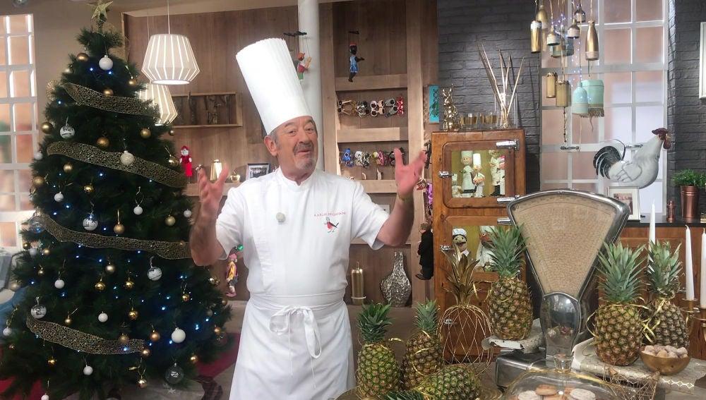 Karlos Arguiñano te propone deliciosos menús de Navidad.