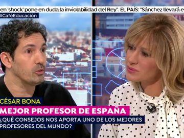 """César Bona, el mejor maestro de España: """"Las emociones deberían de estar en las escuelas"""""""
