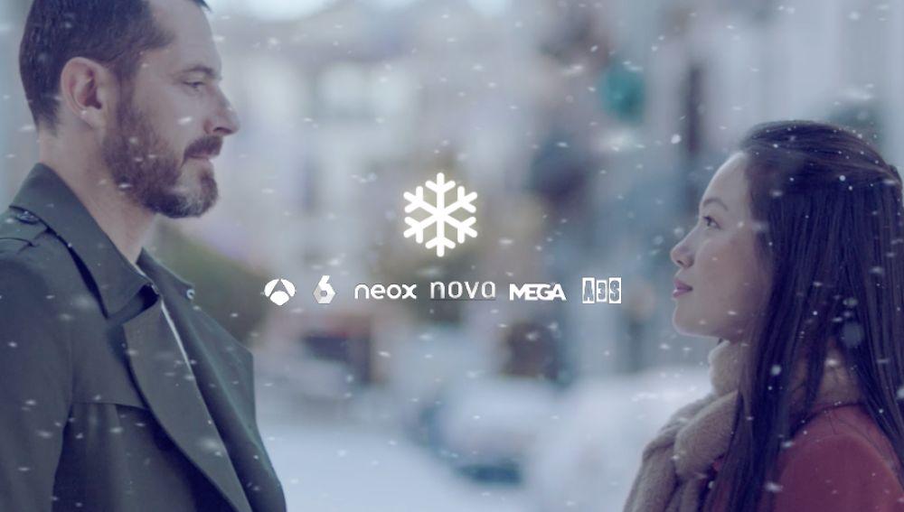 Llega la continuidad navideña a Atresmedia TV