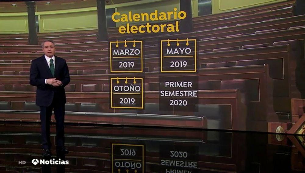 ¿Qué tres fechas se manejan para las elecciones generales?