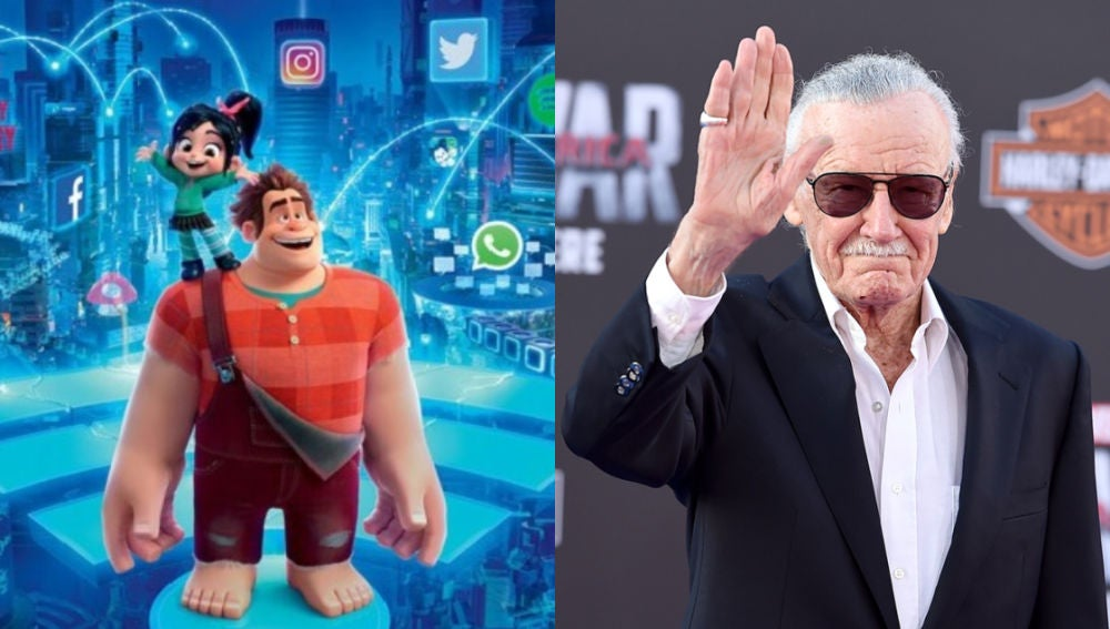 'Ralph Rompe Internet' y Stan Lee